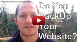 Do You Back Up Your Website?